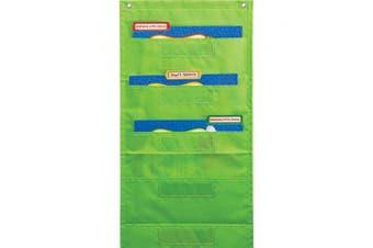 (Lime) - File Folder Storage: Lime Pocket Chart