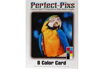 Perfect Pixs 8 Colour Card