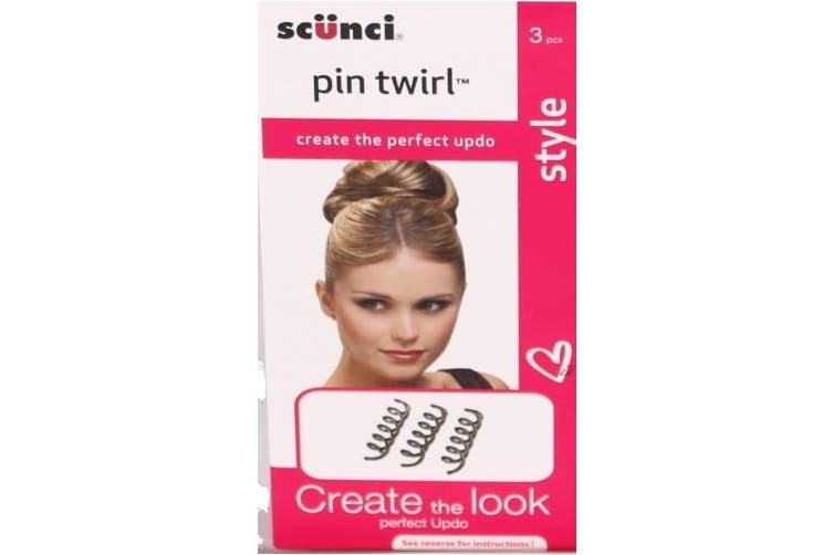 Scunci Pin Twirl