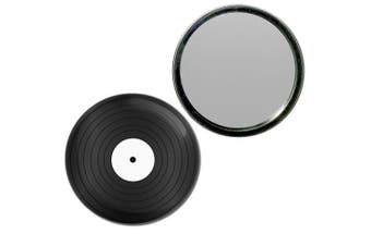 (77mm) - Vinyl Record - 77mm Round Compact Mirror
