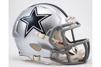 OFFICIAL NFL DALLAS COWBOYS MINI SPEED AMERICAN FOOTBALL HELMET BY RIDDELL
