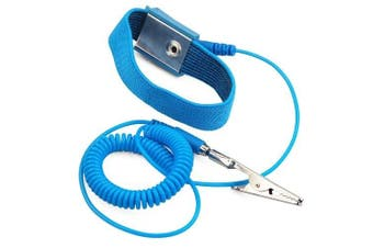 Accessotech Anti-Static Electricity Grounding Wristband Wrist Strap Band ESD Discharge PC