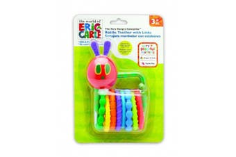 Kids Preferred Eric Carle Caterpillar Teether Links