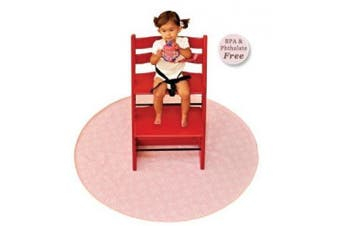 (GoGo Chevron) - BooginHead Baby Newborn Toddler Kid SplatMat Floor Protection Chevron, Grey
