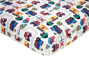 (Choo Choo) - Everything Kids Toddler Bedding Set, Choo Choo
