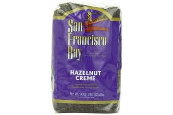 San Francisco Bay Coffee Whole Bean, Hazelnut Cream, 950ml