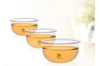 (set of 6/85ml) - Taiwan Brands Quality Goods Top Grade Glass Teacup Set(set of 6/85ml)