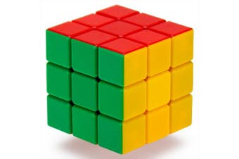 3 x 3 Stickerless 6-Colour Puzzle Cube Engineered for Speed Solving by Brybelly