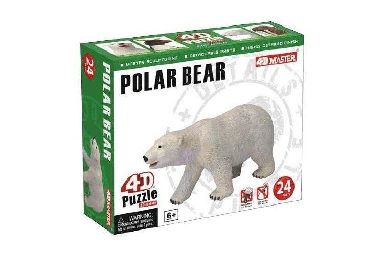 Polar Bear Model 24 Piece Puzzle