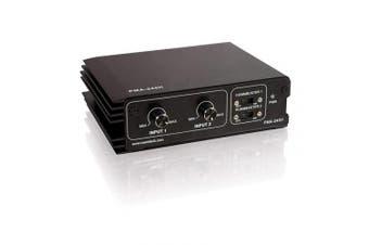 C2G 40573 45 Watt Stereo Mixer/Amplifier Plenum Rated