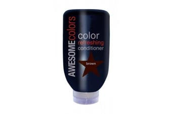 AWESOMEcolors Colour Refreshing Conditioner, Brown 200 ml