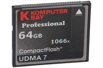 (64GB 1066X) - Komputerbay 64GB Professional Compact Flash card 1066X CF write 155MB/s read 160MB/s Extreme Speed UDMA 7 RAW