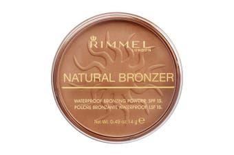 (Sunlight) - Rimmel London Natural Bronzer, 021 Sun Light, 14 g