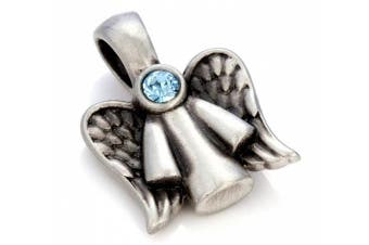 (Light Blue) - Bico Guardian Angel Crystal Pendant (MS7) - divine protection, always with you, never alone - Fashion Jewellery