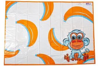 (Orange) - KidKusion High Chair Splat Mat, Orange