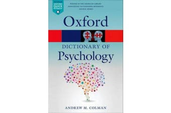 A Dictionary of Psychology (Oxford Paperback Reference)