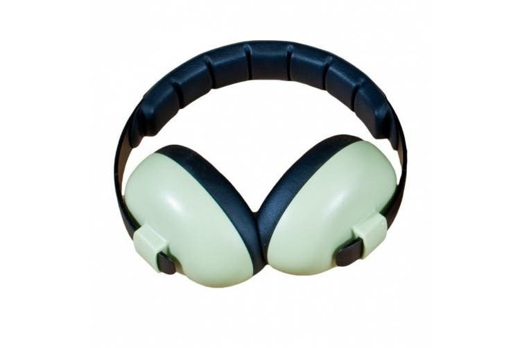 Baby Banz mini earmuffs for children aged 3 months+ - Green