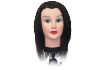 Celebrity Debra Cosmetology Human Hair Manikin, 17-48cm
