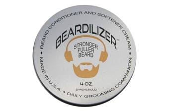 Beardilizer ® Beard Growth Conditioner And Softener Cream - Hypoallergenic Formula - Sandalwood - 120ml