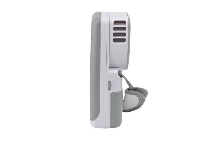 (Gray) - Portable Small Fan & Mini-air Conditioner, Runs On Batteries Or USB--Grey