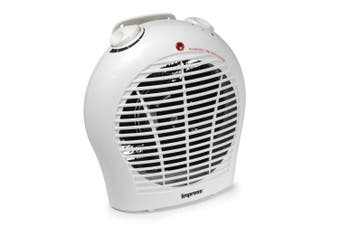 Impress Im-702 1500 Watt 2 Speed Fan Heater With Adjustable Thermostat