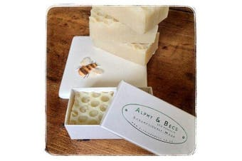 100% Natural Soap With Organic Cheshire Honey, Royal Jelly, Cocoa & Shea Butter