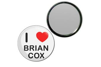 (55mm) - I Love Brian Cox - 55mm Round Compact Mirror