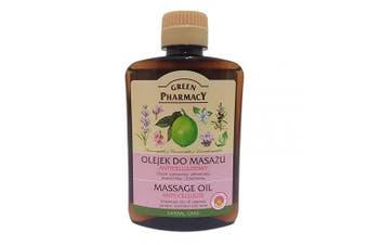 Elfa Pharm Green Pharmacy Massage Oil anti-cellulite cypress, juniper, lavender and lime oils 200ml