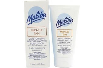 Malibu miracle tan Moisturising before and after sun lotion 150 ml