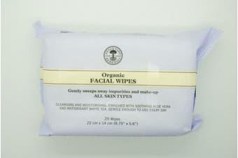 Neal's Yard Remedies NEW Organic Facial Wipes 25 per pack