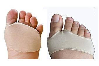 (medium) - Fabric Gel Metatarsal Pads Ball of Foot Gel Pads Cushions Morton's Neuroma Body And Base Ltd TM (medium)