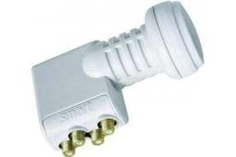 Smart Universal LNB TQS Quad Switch 0.1 dB Titanium