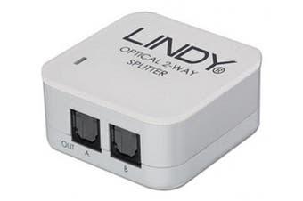 LINDY 2 Way TosLink Digital Optical Audio Splitter