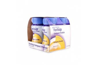 FORTISIP COMPACT BANANNA FLAVOUR 4X125 ML