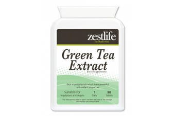 Zestlife Green Tea Extract (1000mg - 90 Tablets) * NEW Product introductory. High in Antioxidants; Weight Loss;