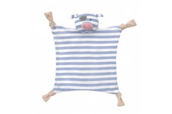 (Pirate Pig) - Organic Farm Buddies Blankie, Pirate Pig