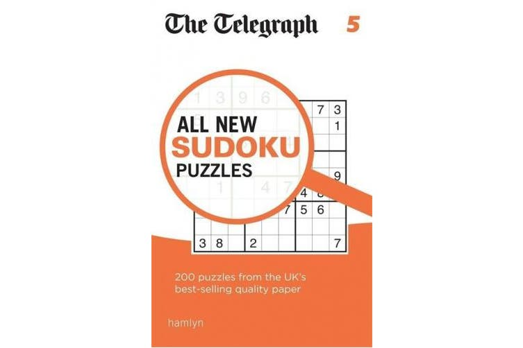 The Telegraph All New Sudoku Puzzles 5 (The Telegraph Puzzle Books)