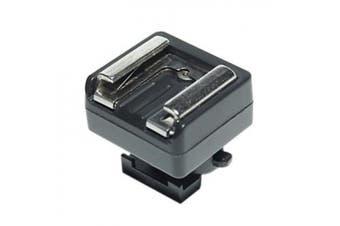 JJC Mini Advanced Shoe to Universal Shoe Mount Converter for Canon Legria HF S10, HF S20, HF S21, HF S30, HF S100, HF S200