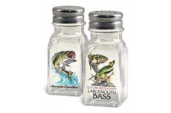 (Largemouth Bass) - American Expedition Largemouth Bass Salt and Pepper Shakers