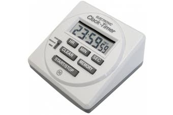 MARATHON TI080001 Large Digital Timer 24 Hour with Countdown, Countup and Clock Feature