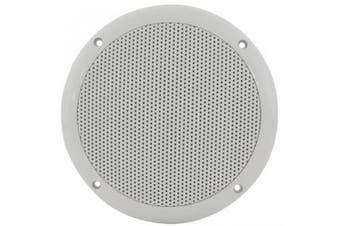 Water Resistant Speaker 100w - 17cm Ceiling or Wall Mountable (White)