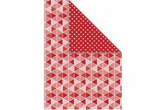 (dark red pattern) - Colour Bar 26304 10-Piece Colour Bar Card, Dark Red
