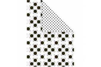 (white pattern) - Colour Bar 26313 10-Piece Colour Bar Card, White