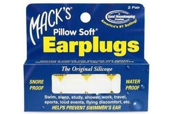 Macks Pillow Soft Ear Plugs White
