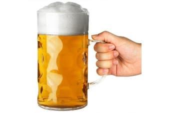 Plastic Beer Stein 2 Pint | bar@drinkstuff 1ltr Beer Stein, German Stein, Plastic Beer Mug