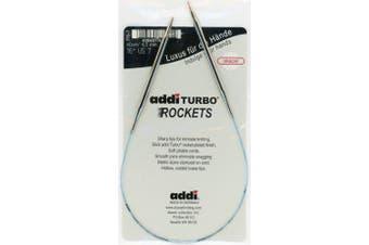 (Size US 2 (3.00 mm)) - addi Turbo Rockets 16 inch Circular Knitting Needle; Size US 2, 3.00 mm