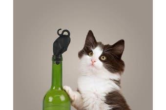 (STOP KITTY) - Fred & Friends Stop Kitty Wine Bottle Stopper New