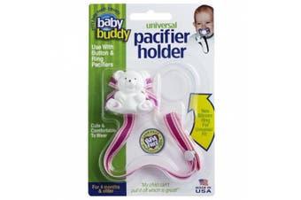 (Berrysicle) - Baby Buddy Universal Pacifier Holder, Berrysicle