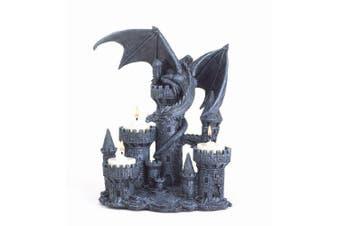 Gifts & Decor Dragon Candleholder Mediaeval Castle Magic Myth Fantasy