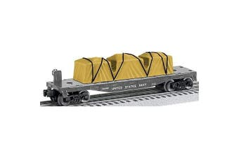 Lionel Trains Navy US Made Flatcar